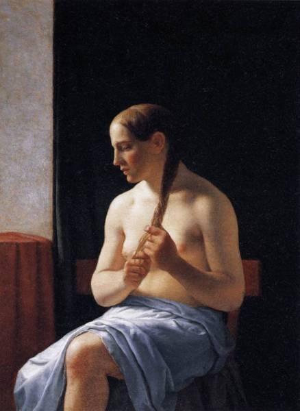 Seated Nude Model